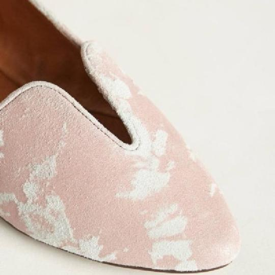 Anthropologie pink Flats