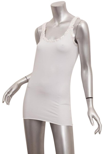 Preload https://item5.tradesy.com/images/dolce-and-gabbana-white-cotton-knit-sleeveless-scoopneck-tank-topcami-size-4-s-21566934-0-2.jpg?width=400&height=650