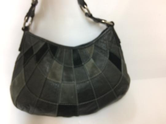 Lucky Brand Patchwork Boho Hobo Bag