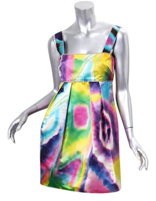 Preload https://item3.tradesy.com/images/dolce-and-gabbana-multi-color-dyed-silk-mini-shift-short-cocktail-dress-size-4-s-21567047-0-2.jpg?width=400&height=650
