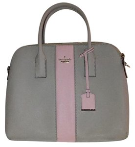 Kate Spade Satchel in Tan and Pink