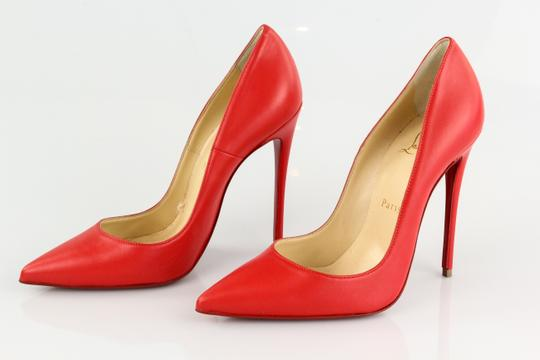 Christian Louboutin So Kate 120mm Red Sole Pointed Toe Fraise Pumps