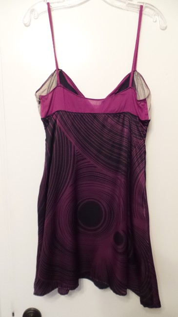 Custo Barcelona Silk Contrast Medium Like New Dress