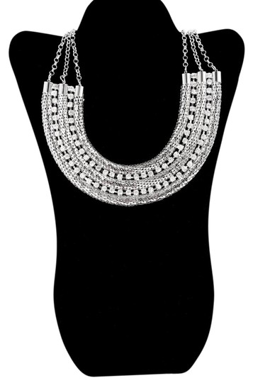 Preload https://item5.tradesy.com/images/silver-tone-media-luna-by-necklace-21567344-0-2.jpg?width=440&height=440