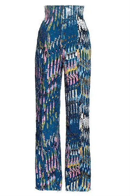 Preload https://item4.tradesy.com/images/h-and-m-blue-eddy-anemian-design-award-winner-floral-deconstructed-us-pant-suit-size-4-s-21567368-0-0.jpg?width=400&height=650