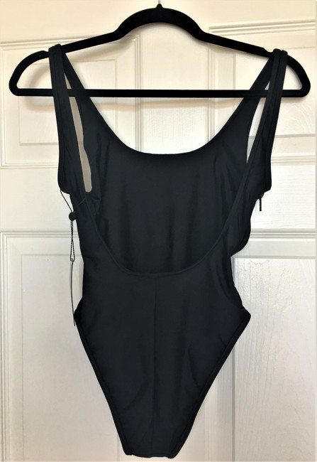 Wildfox NEW WILDFOX Swim Black Swimsuit Lady Fashion Size S Small One Piece