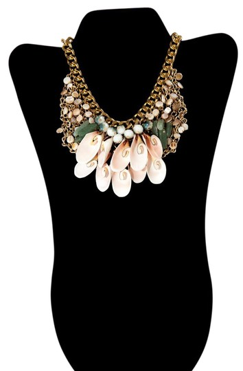 Preload https://item5.tradesy.com/images/gold-tone-and-pink-love-beach-by-necklace-21567399-0-2.jpg?width=440&height=440