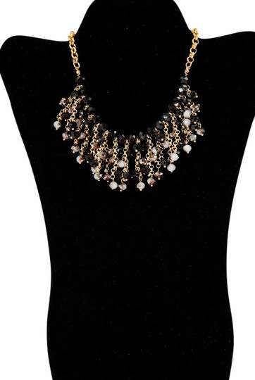 Preload https://item3.tradesy.com/images/gold-tone-black-and-gray-radiosa-by-necklace-21567427-0-2.jpg?width=440&height=440