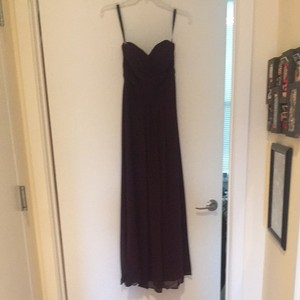 Bill Levkoff Aubergine Dress