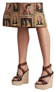 Burberry Brown Wedges