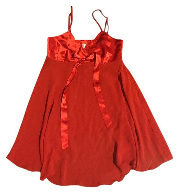 Preload https://img-static.tradesy.com/item/21567577/victoria-s-secret-red-babydoll-lingerie-short-casual-dress-size-0-xs-0-3-650-650.jpg
