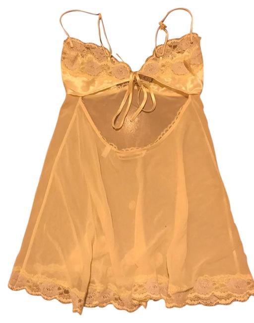 Victoria's Secret short dress light yellow on Tradesy
