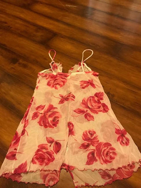 Victoria's Secret short dress red/white on Tradesy