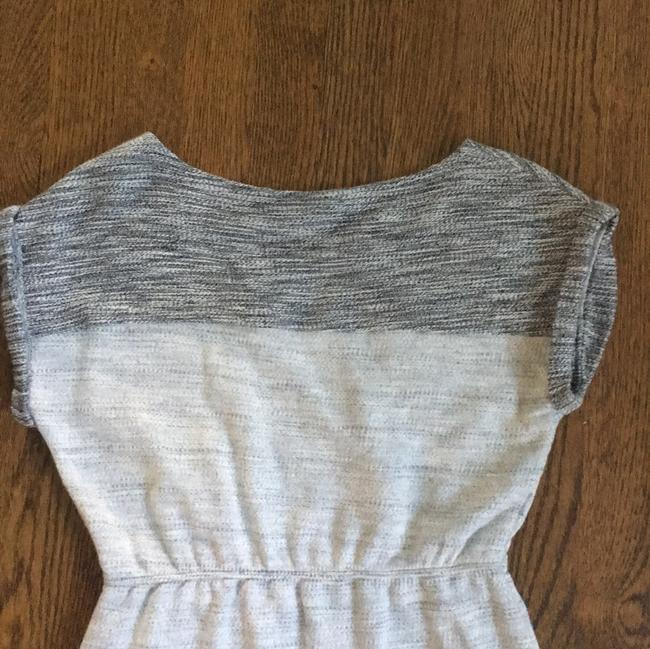 Anthropologie short dress Grey Spacedye Heather Sweatshirt Soft Comfortable on Tradesy