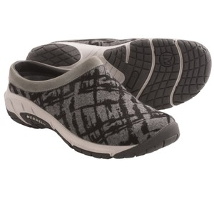 Merrell Encore Grey/Black Mules