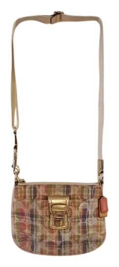 Preload https://item1.tradesy.com/images/coach-signature-plaid-pink-green-blue-orange-leather-and-canvas-cross-body-bag-21567840-0-2.jpg?width=440&height=440