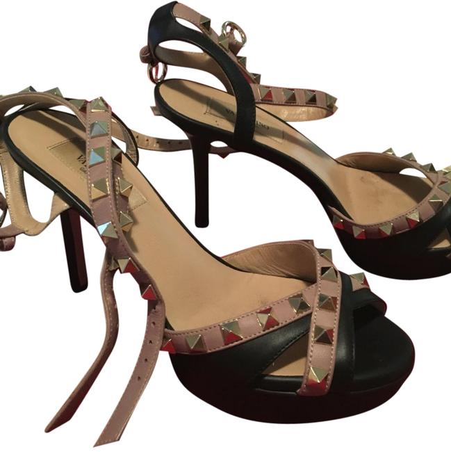 Item - Black and Nude Valery Formal Shoes Size US 6 Regular (M, B)