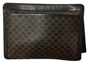 Cline Macadam Black/brown Clutch