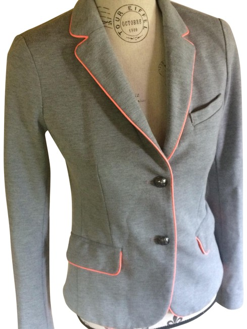 Preload https://item3.tradesy.com/images/gap-heather-gray-with-peachpink-outline-academy-blazer-size-0-xs-21568002-0-5.jpg?width=400&height=650