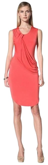 Preload https://item3.tradesy.com/images/coral-draped-short-night-out-dress-size-6-s-21568137-0-1.jpg?width=400&height=650