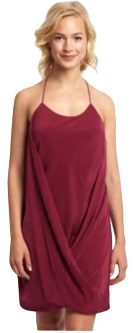 Preload https://item4.tradesy.com/images/wine-draped-crossover-tank-short-night-out-dress-size-4-s-21568143-0-1.jpg?width=400&height=650