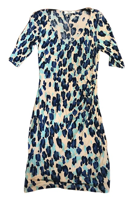 Preload https://item3.tradesy.com/images/blugirl-blue-and-white-blumarine-leopard-print-34-sleeve-mid-length-workoffice-dress-size-os-21568167-0-1.jpg?width=400&height=650