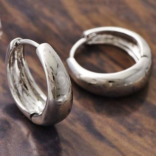 Preload https://item3.tradesy.com/images/silver-etched-white-gold-filled-hoop-free-shipping-earrings-2156822-0-0.jpg?width=440&height=440