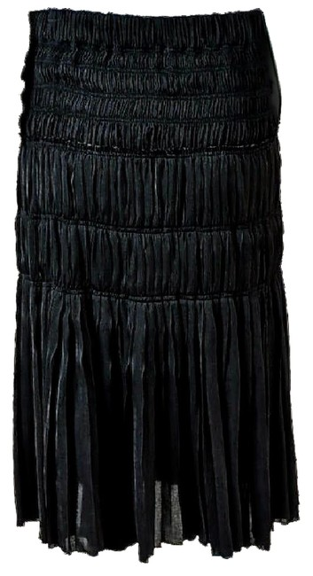 Preload https://item1.tradesy.com/images/isabel-marant-black-final-reduction-runway-pleated-skirt-size-8-m-29-30-21568225-0-3.jpg?width=400&height=650