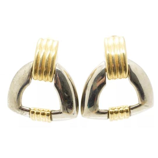 Givenchy Givenchy Doprknocker Twotone Earring