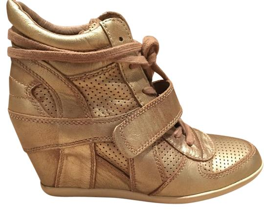 Preload https://img-static.tradesy.com/item/21568302/ash-gold-lace-up-high-top-sneakers-wedges-size-us-9-regular-m-b-0-1-540-540.jpg