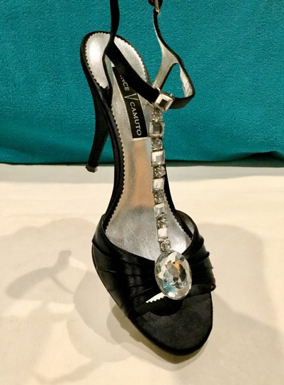 Vince Camuto Dressy Jeweled Evening Black Formal