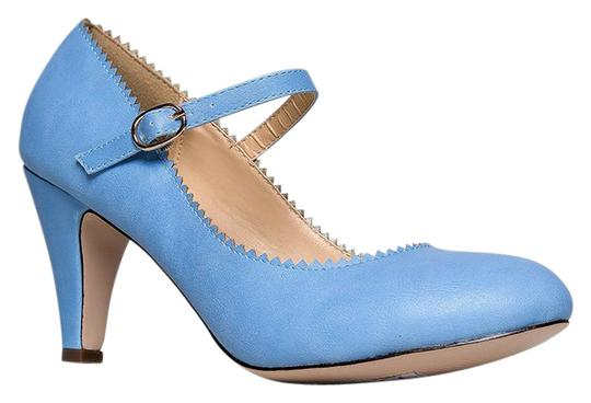 Preload https://item5.tradesy.com/images/j-adams-blue-honey-low-heel-mary-jane-sandals-size-us-55-regular-m-b-21568464-0-1.jpg?width=440&height=440