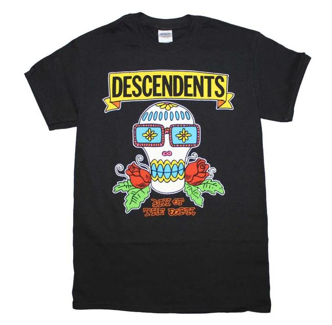 Descendants The Treasured Hippie Music Boho Band Memorabilia T Shirt Black