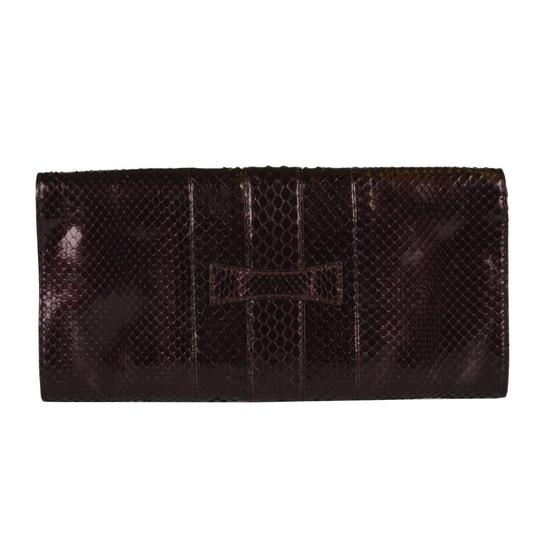 Gucci Deep Vine Red Clutch