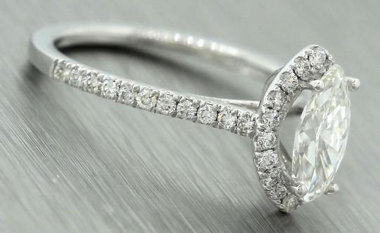 Other Ladies Modern 1.47ctw Marquise Damond 14K White Gold Engagement Ring