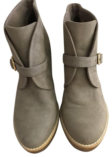 Preload https://img-static.tradesy.com/item/21568886/stella-mccartney-light-green-camel-suede-bootsbooties-size-us-7-regular-m-b-0-1-540-540.jpg
