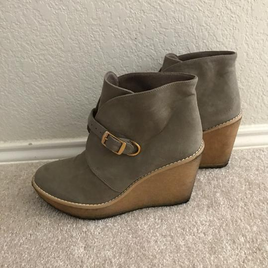 Stella McCartney light green camel Boots