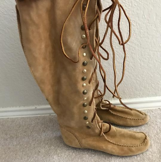 House of Harlow 1960 camel Boots