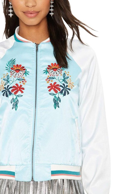 Item - Vine with Me Embroidered Bomber Jacket Size 4 (S)