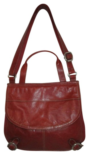 Preload https://item1.tradesy.com/images/fossil-dark-red-leather-and-canvas-cross-body-bag-21568935-0-1.jpg?width=440&height=440