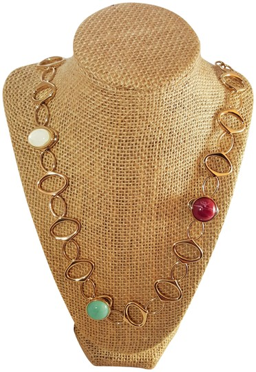 Preload https://item1.tradesy.com/images/lydell-nyc-gold-plated-multi-color-ravishing-designer-by-necklace-21569025-0-3.jpg?width=440&height=440
