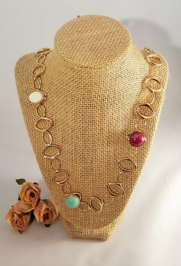Lydell NYC Ravishing Gold Plated Designer Necklace Multi Color by Lydell NYC