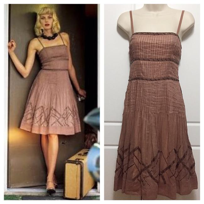 Preload https://item4.tradesy.com/images/anthropologie-mauve-elevensies-isca-organza-mid-length-short-casual-dress-size-2-xs-21569268-0-0.jpg?width=400&height=650