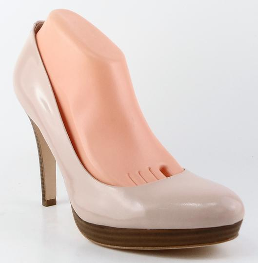 Coach Platform Patent Leather Pink Frost Pumps