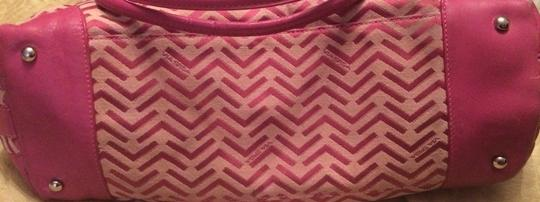 Via Spiga Tote in Pink Plum Image 4