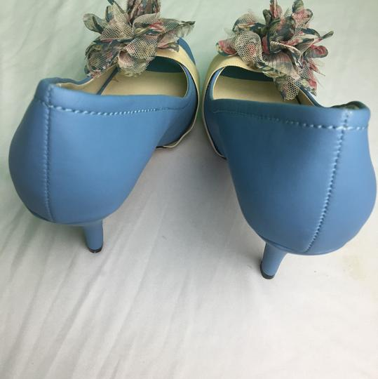 Versona blue Pumps