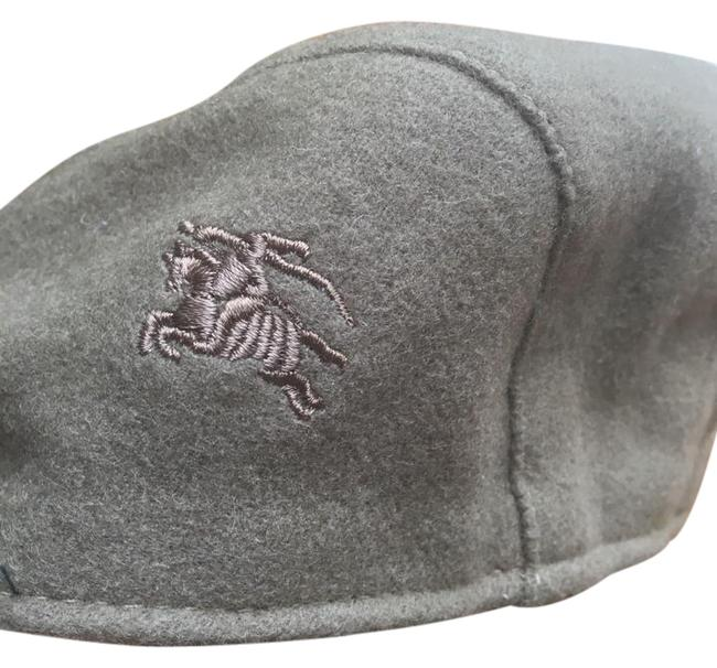 Item - Grey London Wool Cotton Nova Check Cabbie Made In England S Hat
