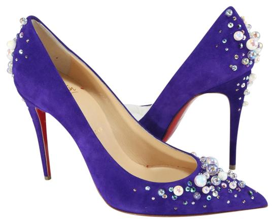 Preload https://item5.tradesy.com/images/christian-louboutin-purple-candidate-pearl-strass-crystal-100mm-heels-a117-pumps-size-eu-37-approx-u-21569539-0-1.jpg?width=440&height=440