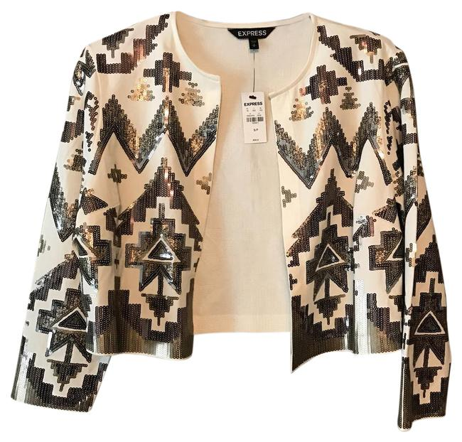Preload https://item3.tradesy.com/images/express-cream-aztec-cardigan-size-2-xs-21569597-0-1.jpg?width=400&height=650