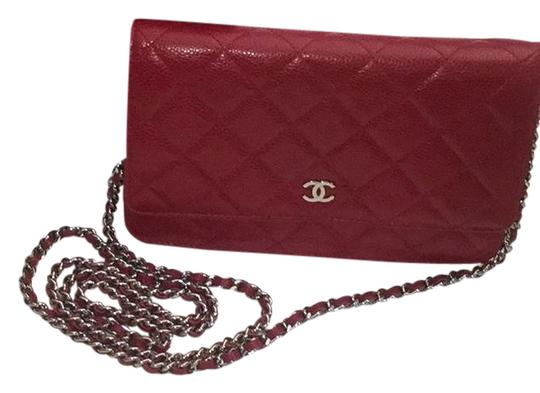Preload https://item1.tradesy.com/images/chanel-red-caviar-leather-cross-body-bag-21569605-0-1.jpg?width=440&height=440